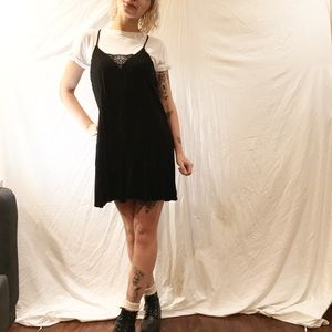Slip Dress with Built in Shirt